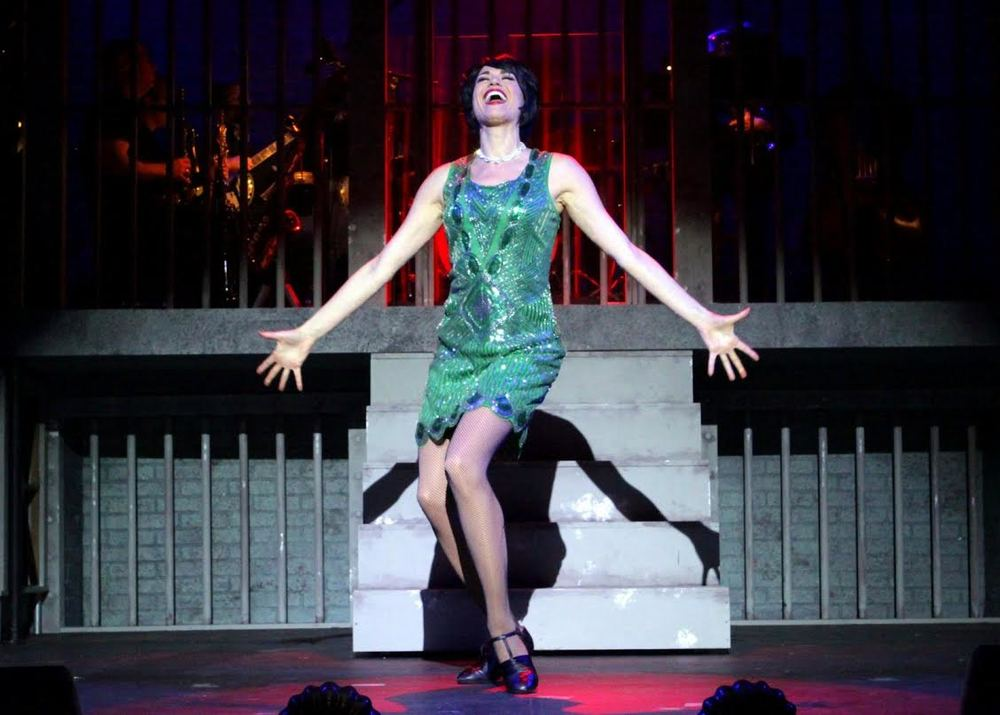 Velma Kelly (Stacey Harris) (photo: Anne Hudson)