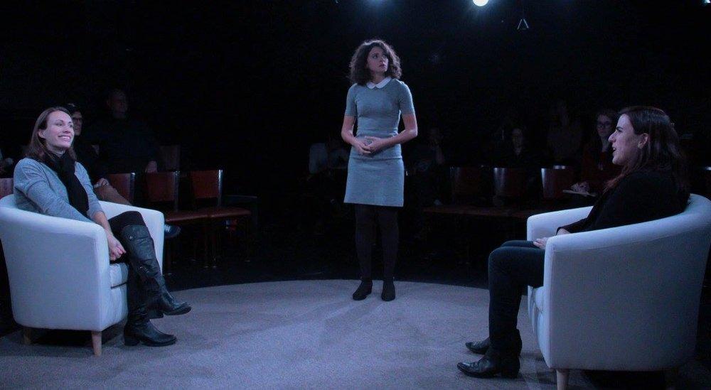 Katrina (Emily Reeder), Hana (Bianca Boragi), Irina (Chiara Klein) (photo: Elizabeth Green)