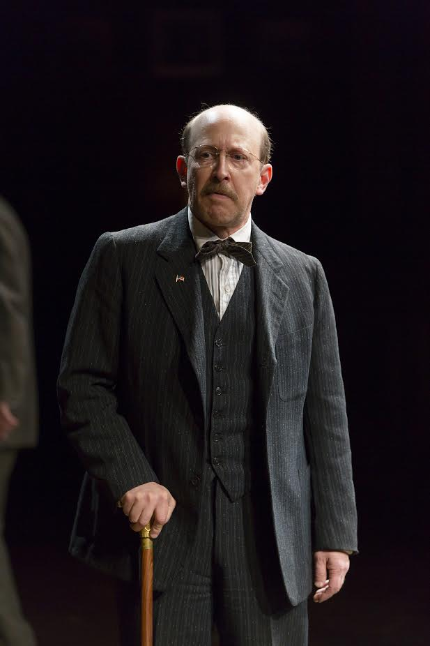Steve Routman as Thomas Marshall in The Second Mrs. Wilson (photo: T. Charles Erickson)
