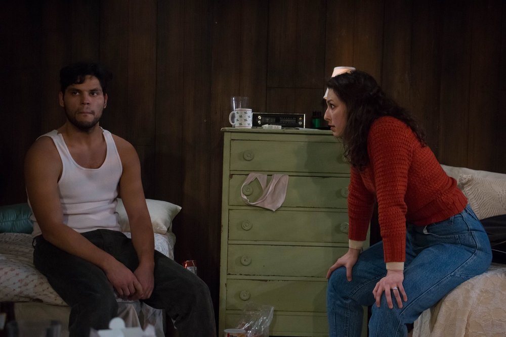 Bobbie (Bobby Guzman), Carol (Danielle Chaves) in North of Providence (photo: Elli Green)