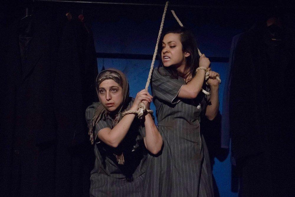 Marie-Ange (Caitlin Crumbleholme), Clara (Catherine Rodriguez) (photo: Elli Green)