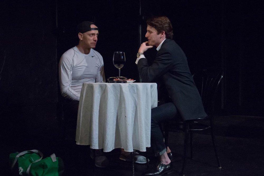 Xander (Kevin Hourigan), Michael (Josh Goulding)