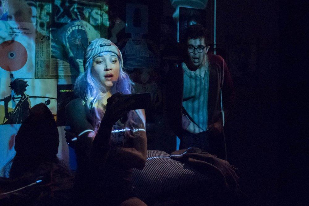 Lena (Sydney Lemmon), Matt (Abubakr Ali)
