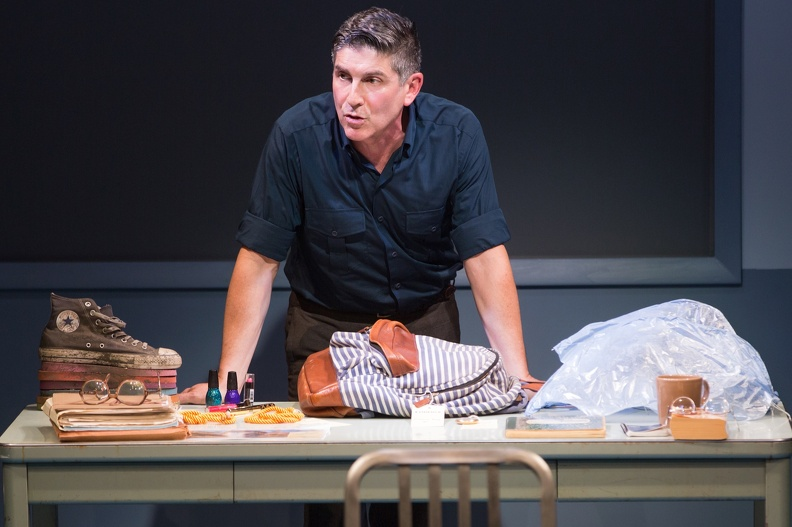 James Lecesne in The Absolute Brightness of Leonard Pelkey (photo: Matthew Murphy)
