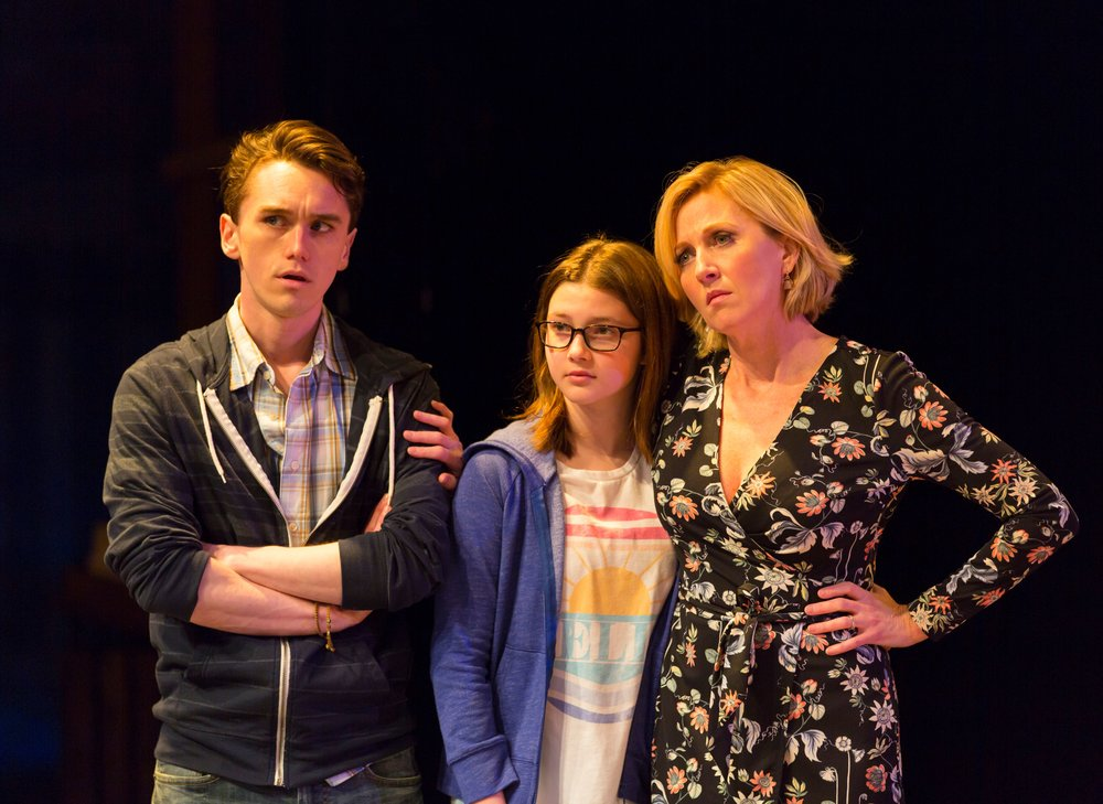 Bix (Tyler Jones), Kate (Sawyer Niehaus), Claire (Anastasia Barzee) (photo: T. Charles Erickson)