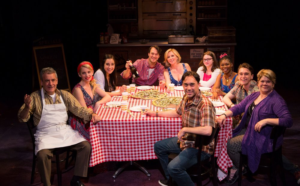 The cast of The Most Beautiful Room in New York (photo: T. Charles Erickson)