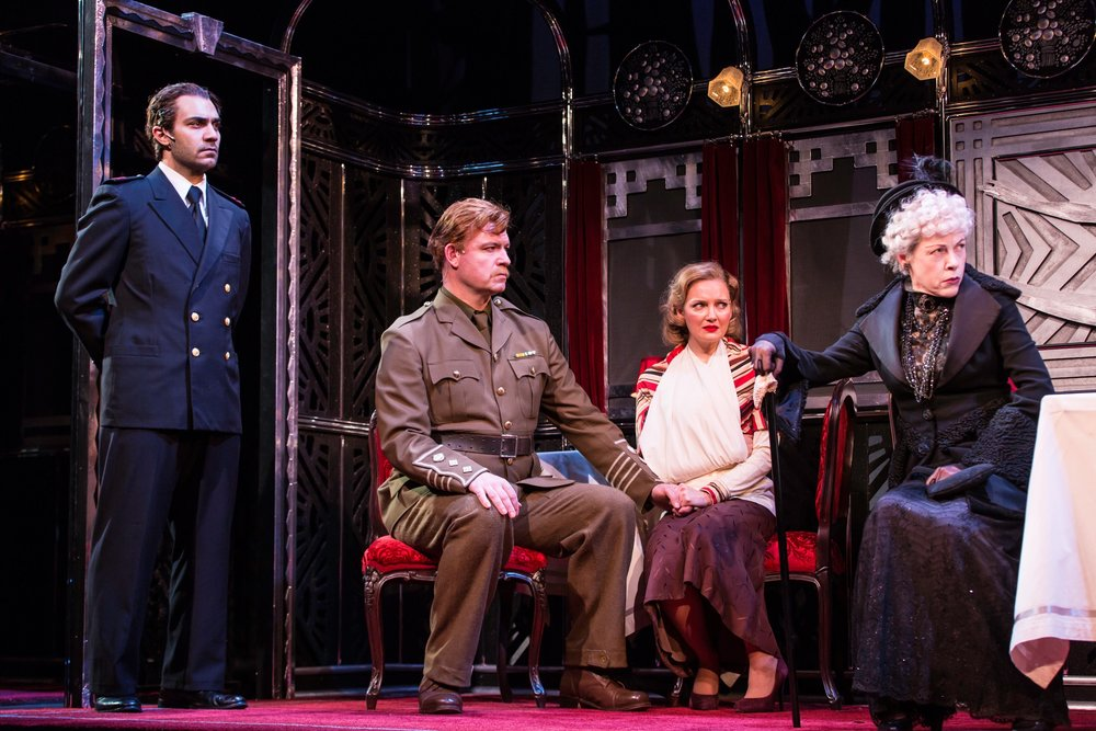 Michel (Maboud Ebrahimzadeh), Colonel Arbuthnot (Ian Bedford), Mary Debenham (Susannah Hoffman), Princess Dragomiroff (Veanne Cox)