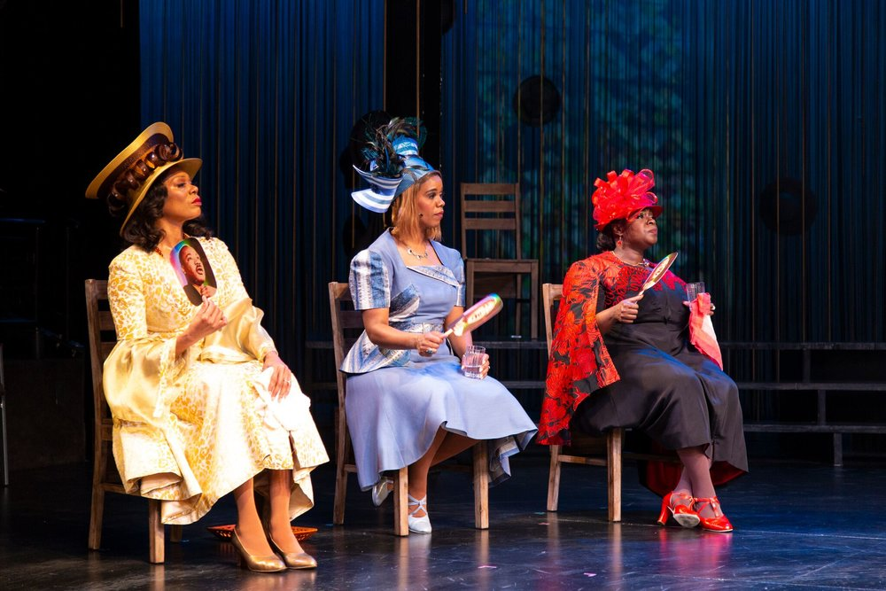 Wanda (Stephanie Pope), Jeanette (Rebecca E. Covington), Mable (Danielle K. Thomas)