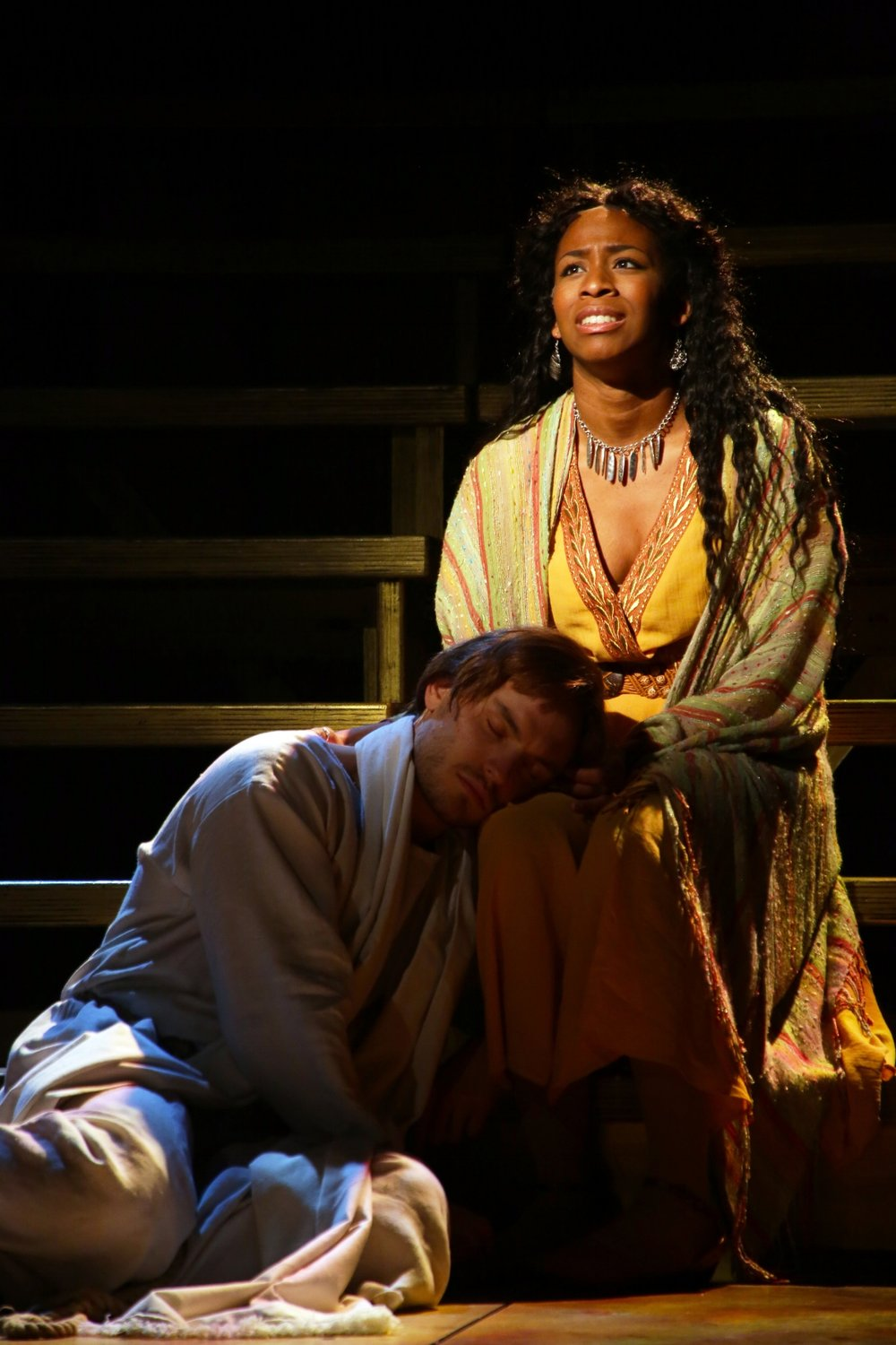 Jesus (Alex Prakken), Mary Magdalene (Sasha Renae Brown)