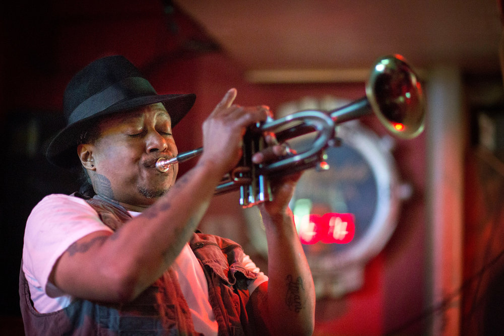 Musician Kermit Ruffins frequently BBQs nutria before his shows.