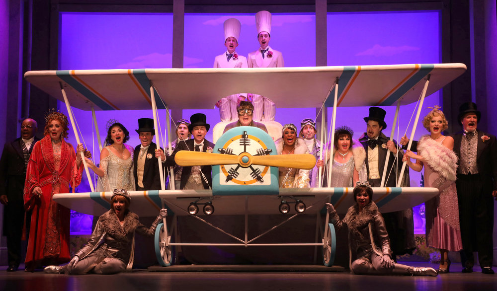 """I Do, I Do in the Sky,"" with the cast of The Drowsy Chaperone"