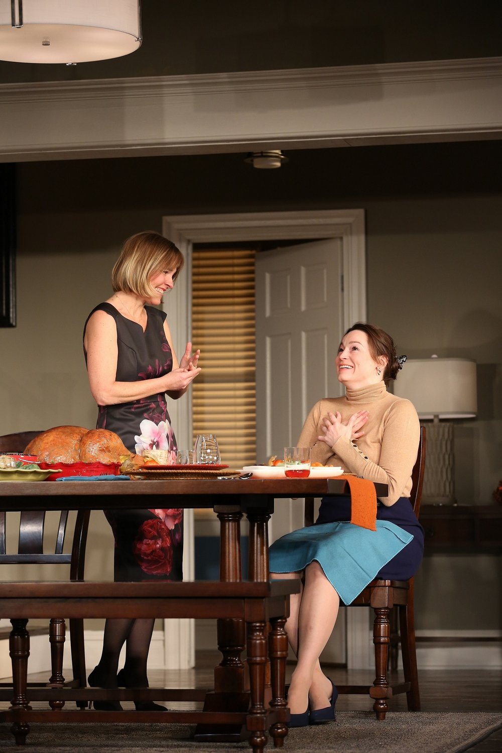 At the Kanes: Kelly McAndrew (Actor 1), Anne Bates (Actor 3)