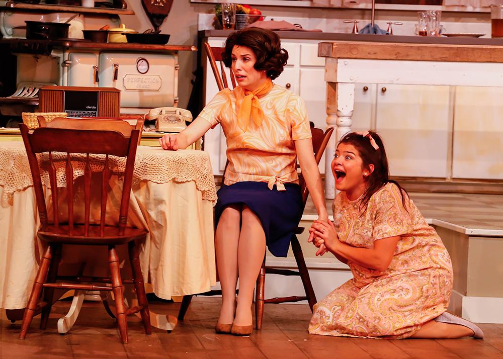 Rose (Anna Fagan), Kathy (Bethany Fitzgerald