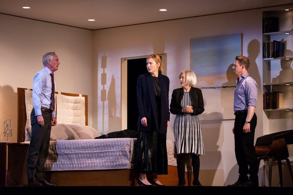 Conrad (Richard Bekins), Katherine (Beth Riesgraf), Gail (Mia Dillon), Josh (Zach Appelman)
