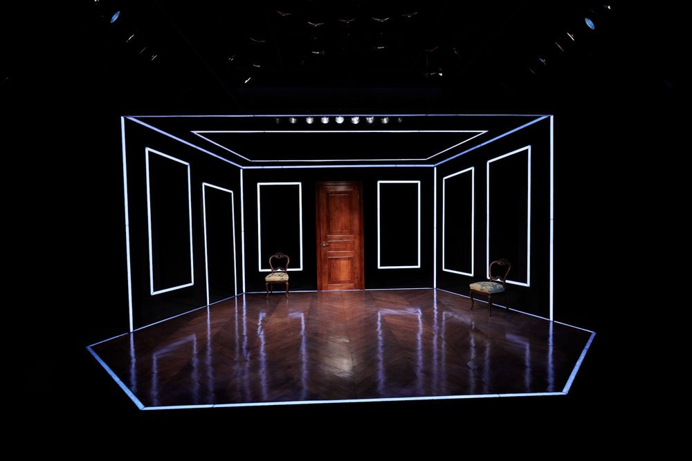 Alexander Hodge's set for A Doll's House, Part 2, at TheaterWorks (photos courtesy of TheaterWorks)