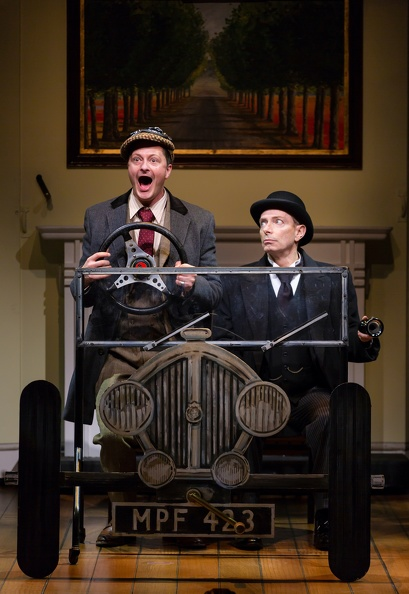 Wooster (Chandler Williams), Jeeves (Arnie Burton)