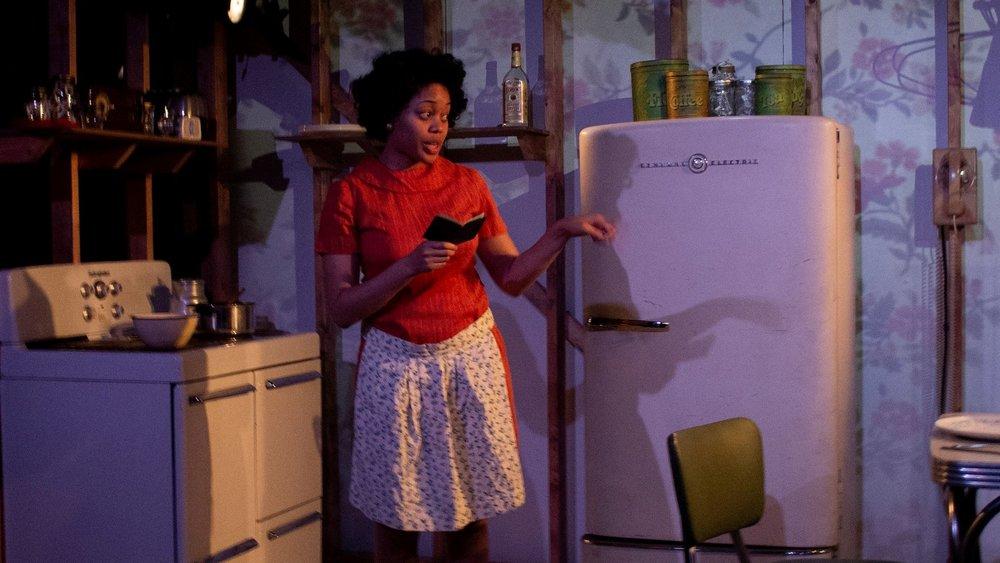 Ciara Monique McMillian in Fireflies, Yale Cabaret