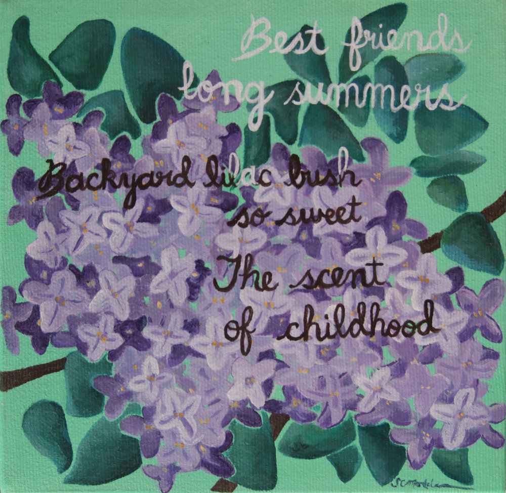 Backyard lilacs