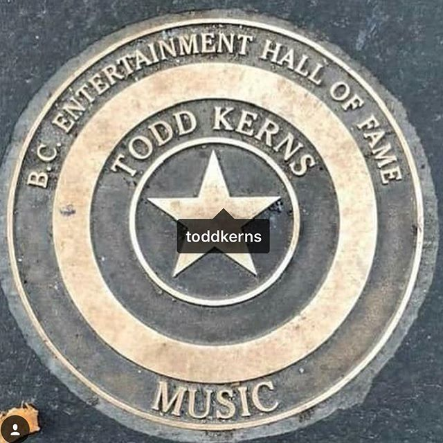 Congrats to comrad @toddkerns for receiving a star on the B.C. Walk of Fame in Vancouver Canada 🇨🇦 There is nobody more deserving than our favourite entertainer!