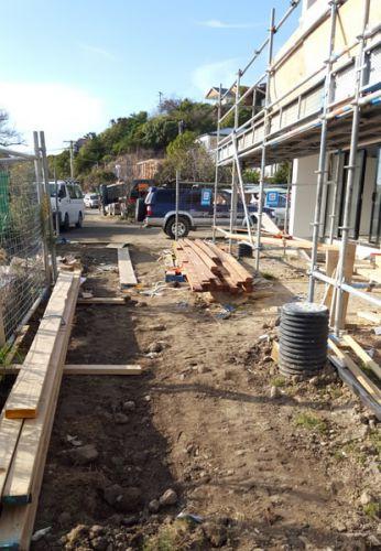 concrete driveway, paths and patios excavation Mt Pleasant, Christchurch