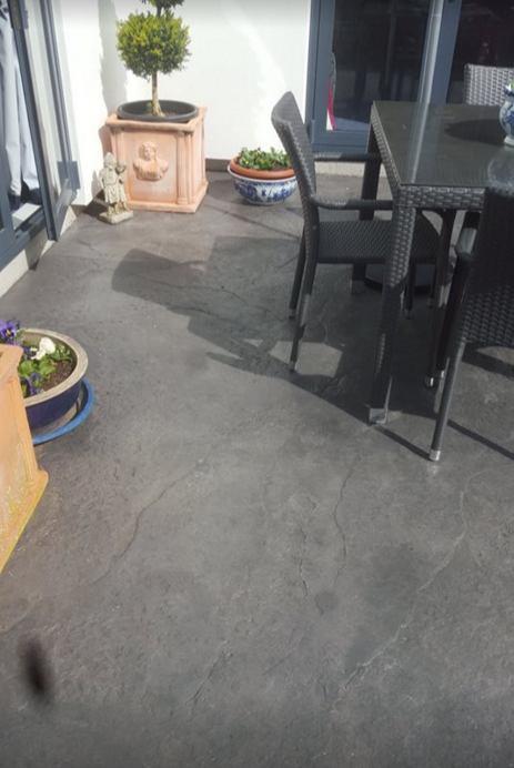 Beautiful concrete texture finish