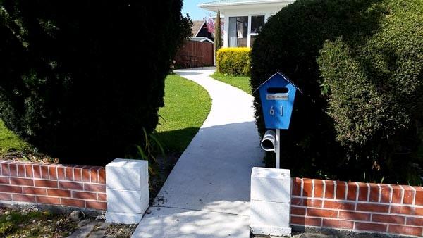 Plain Concrete Path Wellington