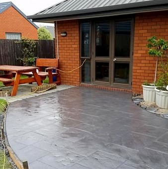 Stamped Concrete Wellington
