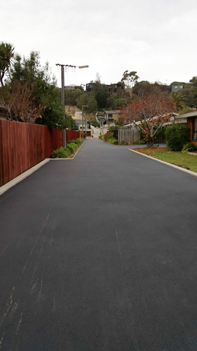 Wellington Driveway in Asphalt