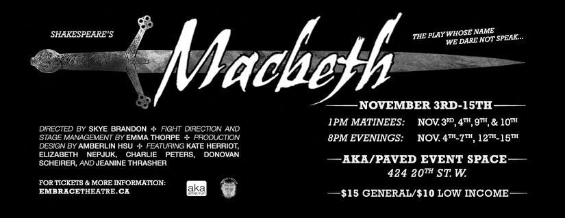 Everything you want to know about Macbeth
