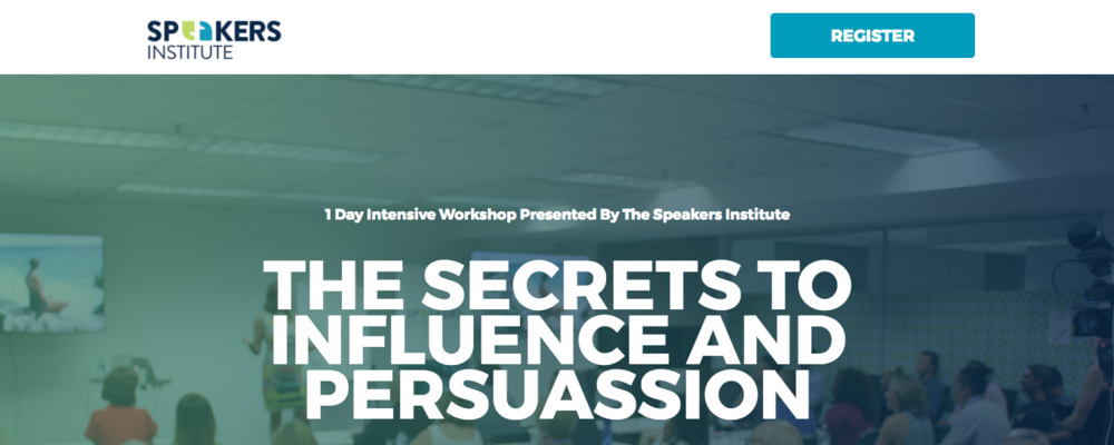 Do you want to learn how to influence and persuade better?     Have you to know how you can influence your audience to boost results?     Did you know that anyone can learn the secrets to massively improve your conversion?     DOWNLOAD BROCHURE HERE: