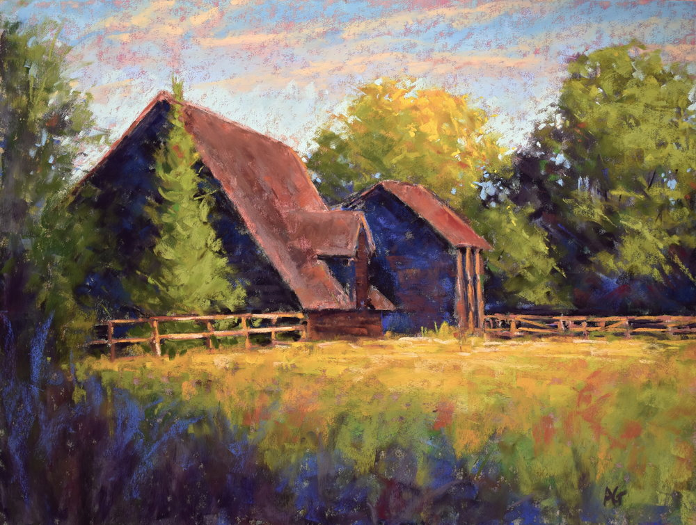 At the ranch. 12x16