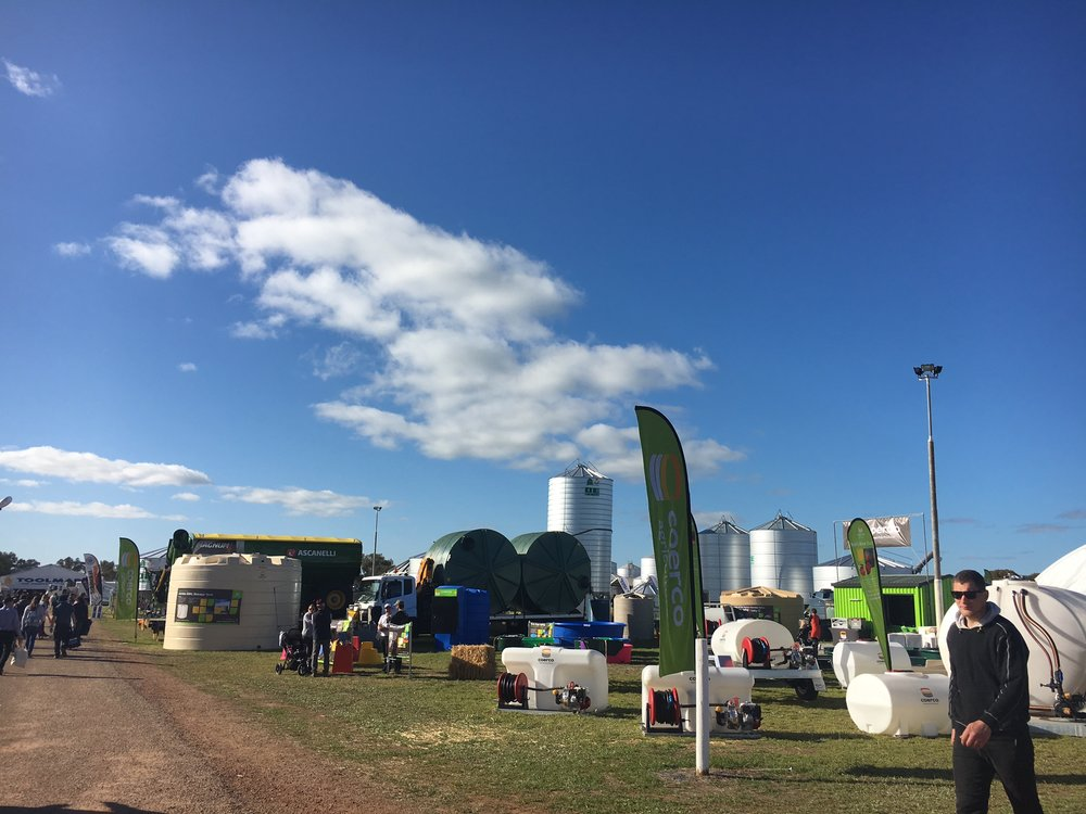 The Larger than Life Dowerin Field Day in Western Australia