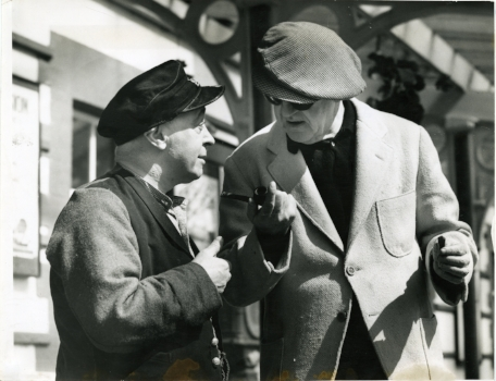 Jimmy O'Dea and John Ford