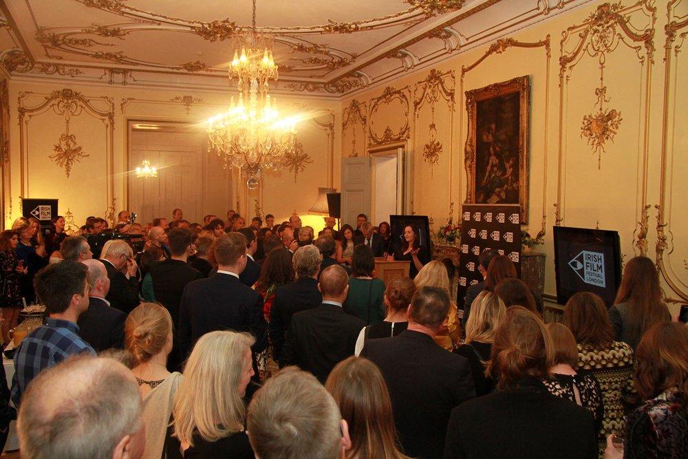 Irish Film London Awards at the Irish Embassy London