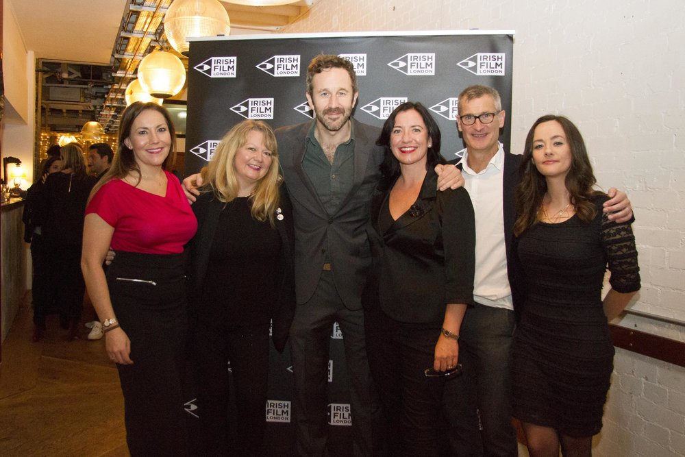 Black 47 London Premiere 2018 Photos courtesy of Noel Mullen Irish Film London 69 Irish Film London team with Chris O'Dowd.jpg