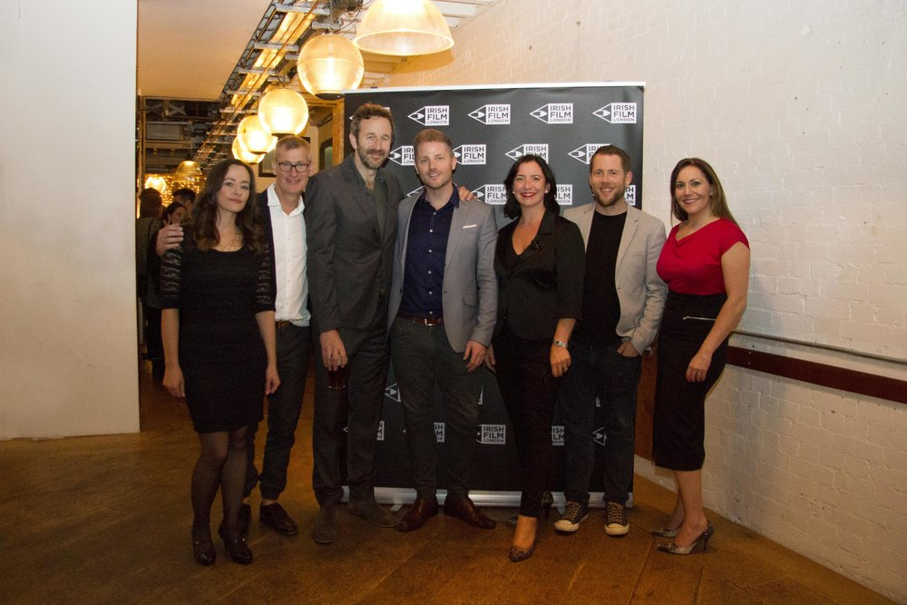 Black 47 London Premiere 2018 Photos courtesy of Noel Mullen Irish Film London 70 Kelly O Connor Lance Pettitt Chris O Dowd Johnny Loughlan Angela Sammon Macdara Kelleher.jpg