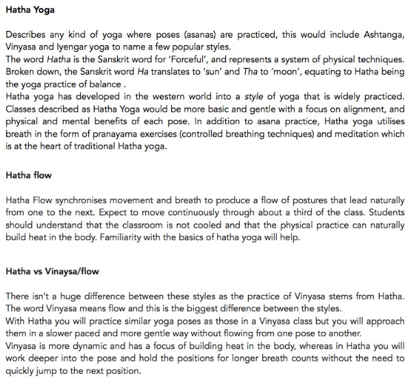 Souvent Hatha Yoga — Rosie Blake Yoga VK62