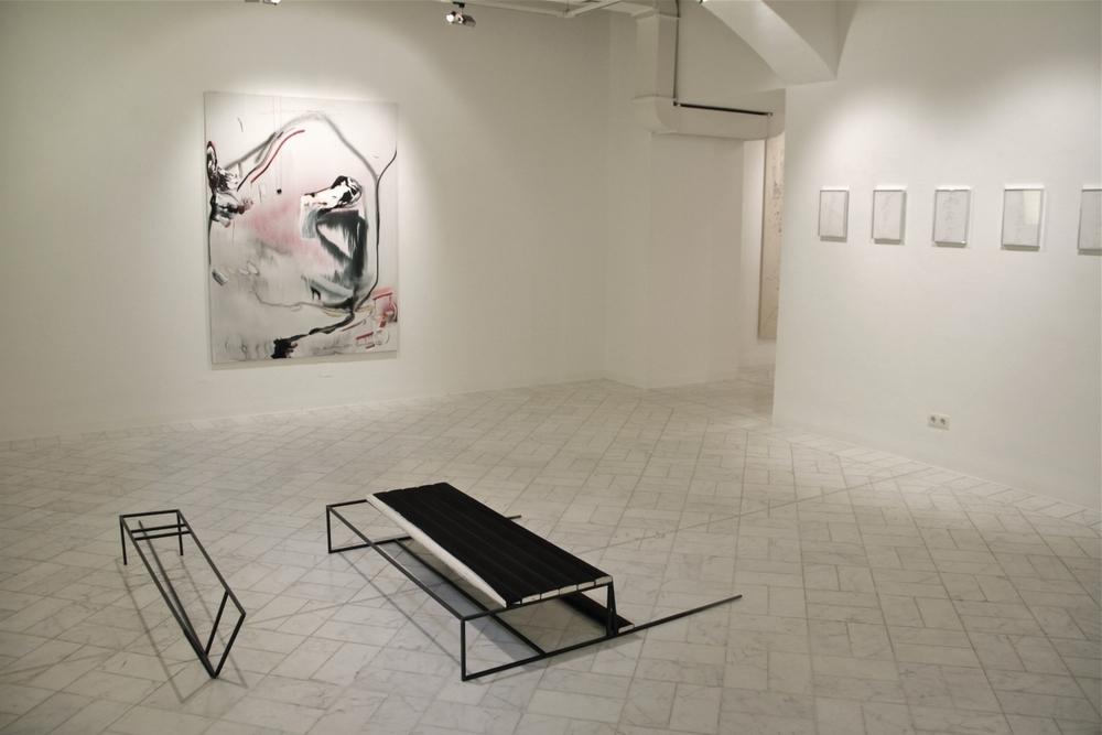 Zwischen den Dünen  Galerie frey, Vienna 2015  with Iris Dittler