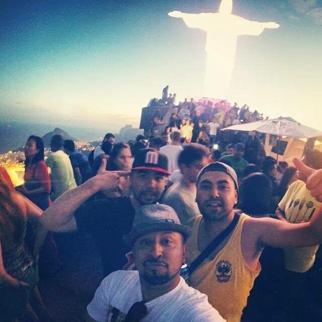 """✨🌎🇧🇷 #illuminate 🇧🇷🌎✨ . . . """"Look at how a single candle can both defy and define the darkness."""" - Anne Frank. . . #flashbackfriday to one of the best experiences in my life in #Rio #Brazil for the #2014 #worldcup ... I can't wait to go back and reunite with the amazing people out there and make times #music.. . . #christtheredeemer #tbt #fbf #grateful #traveler #producer #purpose #driven #focused #tunedin #destiny #la #sf #stylolive #BOOM"""