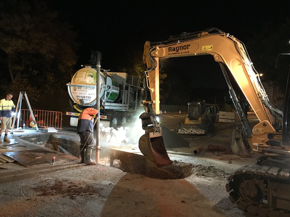 Night works to complete Main Roads contract in Brisbane