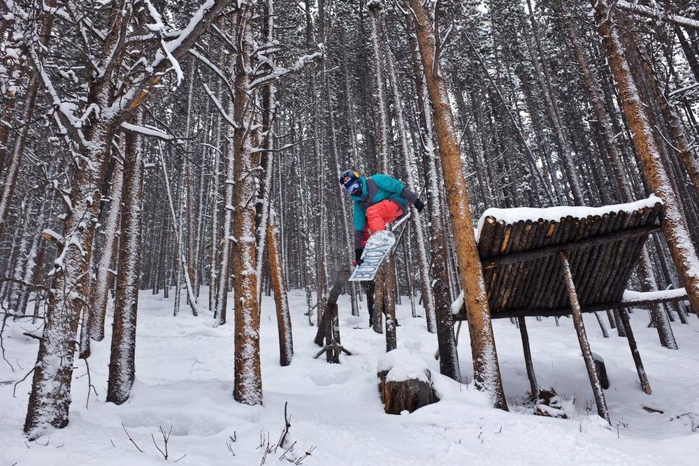 Gyarmati Panka a coloradói Breckenridge-ben, a Kirk's Campben edz. Ha végre leesik a hó, azért marad idő egy kis szűzhavazásra is.