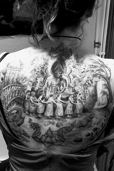 Tattoo Living Image