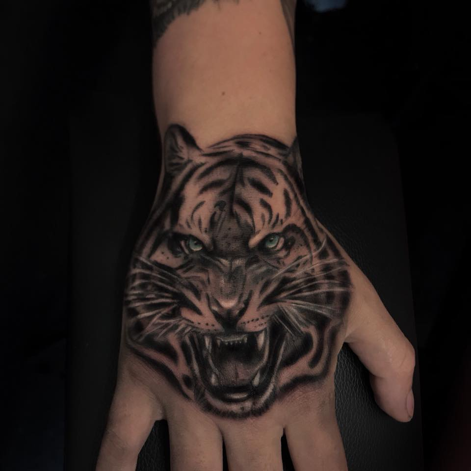 epic tiger on hand by george