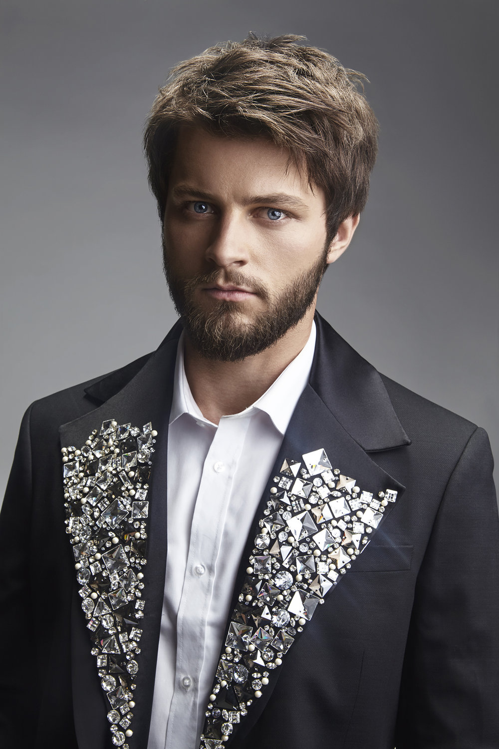 Fall-Hair-Collection-Shoot-for-Studio-Alf-Frisør-by-Dana-Cole-Photography-male-model-in-tux-jeweled-suit-bearded-male-advertising.jpg
