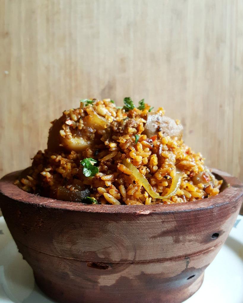 Nkwobi Jollof Rice
