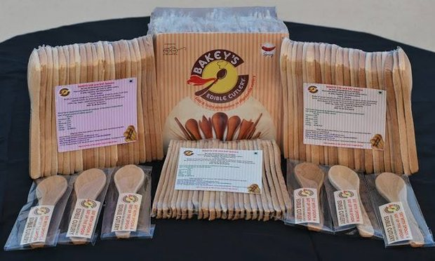 Packaged edible cutlery