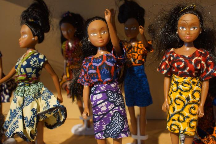 Queen of Africa Dolls Dressed in Nigerian Attires // Source: