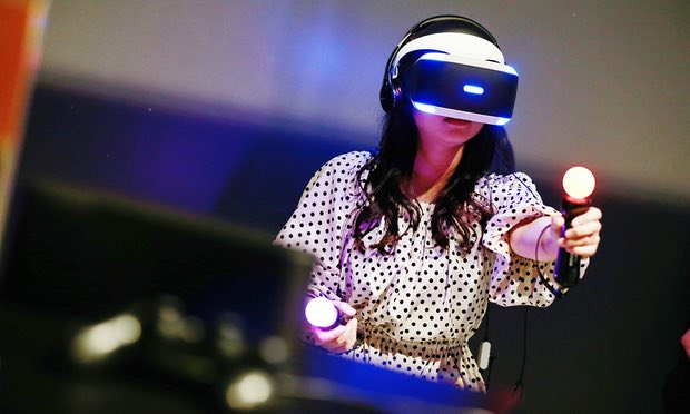 SONY'S PLAYSTATION VR