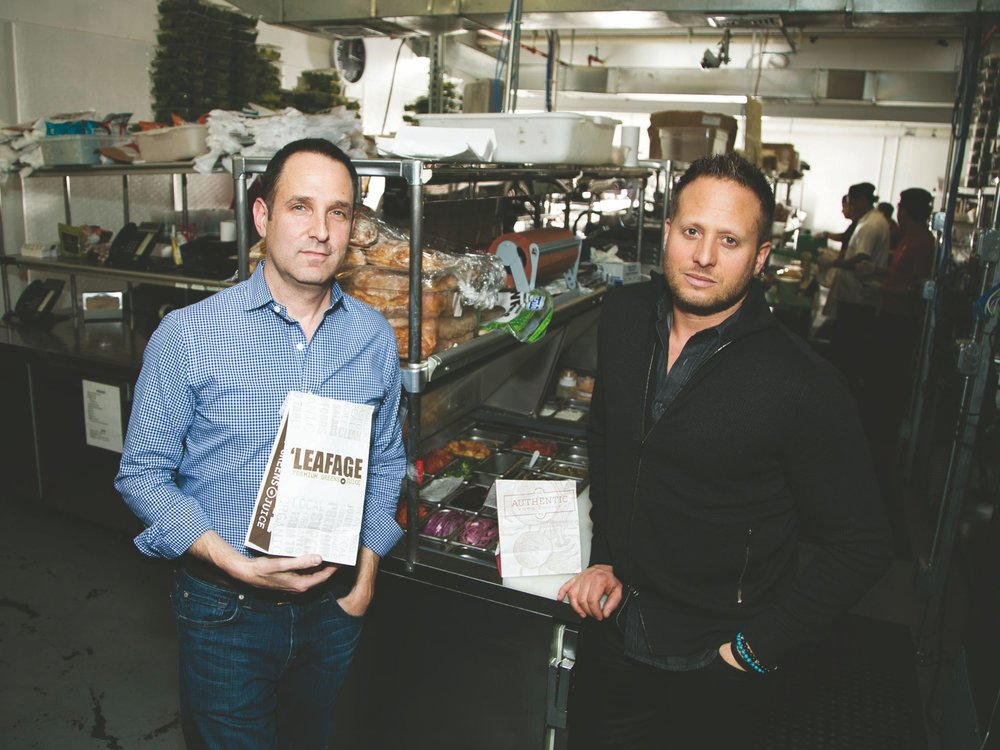 TODD MILLMAN AND PETER SCHATZBERG, CO-OWNERS OF GREEN SUMMIT