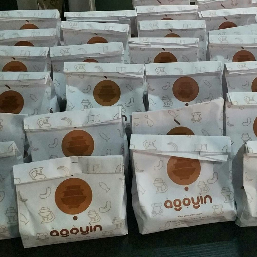 Agoyin Crusine's Delivery Packs // Source @agoyinspecial [Instagram]